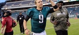 It's yours! Eagles name Foles starter for the rest of the season