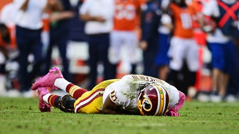 Robert Griffin III and the Redskins