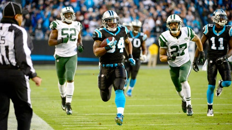November 26: Carolina Panthers at New York Jets, 1 p.m. ET