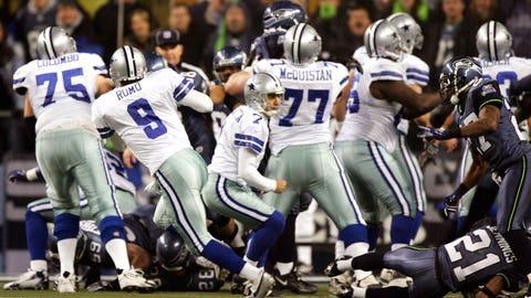 6. Seahawks 21, Cowboys 20 in 2007