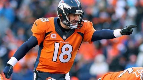 Total First Half Team Points - Denver Broncos
