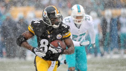 Steelers WR Antonio Brown