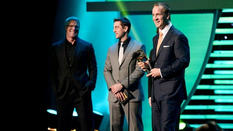 Saturday, 8 p.m. ET on FOX: Third annual NFL Honors