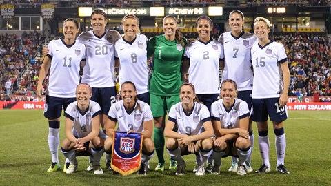 Friday, 9 p.m. ET on FOX Sports 1: Battle for the Border -- US Women's Soccer vs. Canada