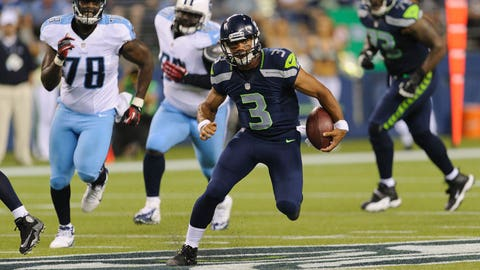 QB: Russell Wilson, Seattle Seahawks: 5-11, 215 pounds