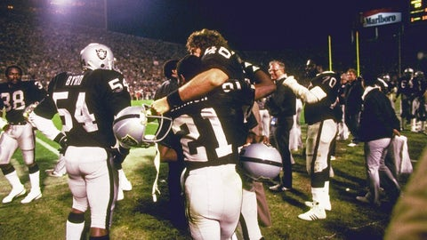3. Super Bowl XVIII: Los Angeles Raiders (+3) over Washington Redskins, 38-9
