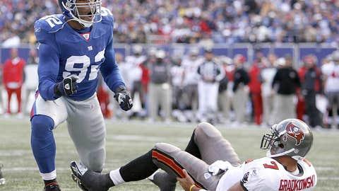 Michael Strahan: DE, Giants (1993-07)