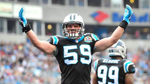 Luke Kuechly, LB, Boston College / Drafted ninth overall by the Carolina Panthers