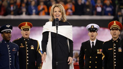 Performing America's song
