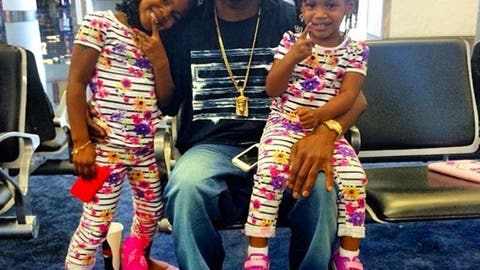 Asante Samuel's two best girls