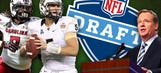 It's here! Behold Peter Schrager's 7-round mock extravaganza