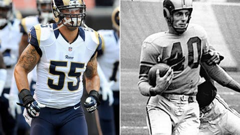 St. Louis Rams uniforms
