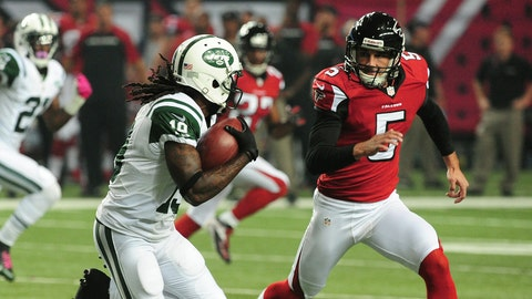 October 29: Atlanta Falcons at New York Jets, 1p.m. ET
