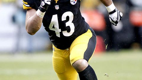 S: Troy Polamalu