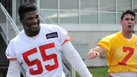 Chiefs OLB Dee Ford (23rd overall)