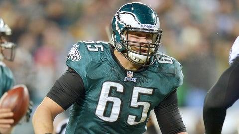Right Tackle: Lane Johnson, Philadelphia Eagles