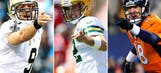 Which star QB is the odds-on favorite to win the 2014 NFL MVP?