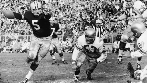 Paul Hornung: 1956 Heisman winner, Super Bowl I champ