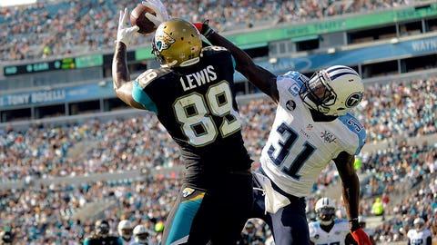 TE Marcedes Lewis, Jaguars: 11 years