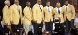 Welcome: 2014 class takes their place in the Pro Football Hall of Fame