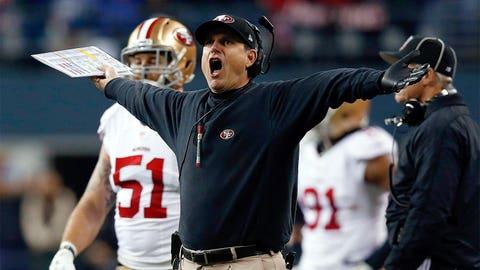 Jim Harbaugh, 49ers