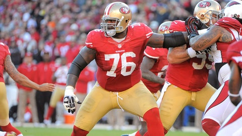 Will the 49ers be able to replace the losses on the offensive line?