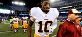 Could RG3 be losing his footing as Redskins' starting QB?