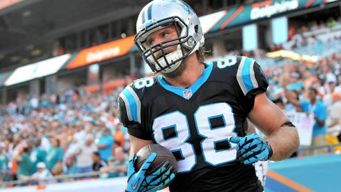 Greg Olsen, TE, Panthers (elbow): Active