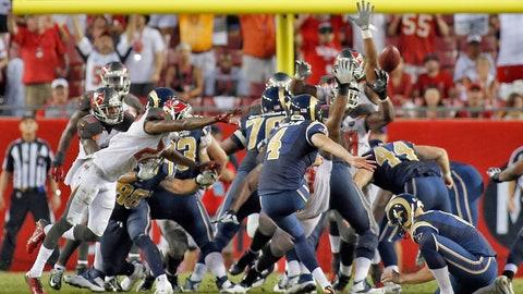 Rams 19, Buccaneers 17