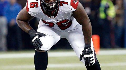 Lamar Holmes, OT, Falcons