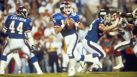 Phil Simms and Jeff Hostetler (Giants)