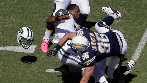 Geno Smith Benched at Halftime of Chargers Game