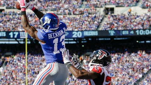 Get Odell Beckham Jr. The Ball In Space
