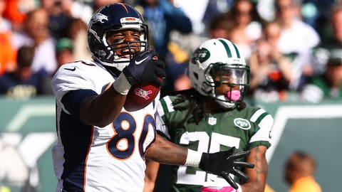 Julius Thomas Mocks Jets Secondary After Touchdown Catch