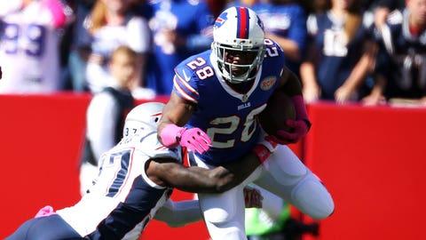 December 3: New England Patriots at Buffalo Bills, 1 p.m. ET