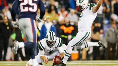 Nick Folk's 58-yard Game-Winning Field Goal is Blocked