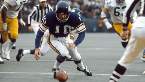 Fran Tarkenton and the Vikings