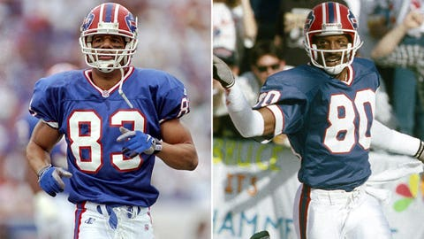 Andre Reed and James Lofton