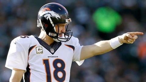 Peyton Manning: 23 playoff games, 11 wins, 12 losses
