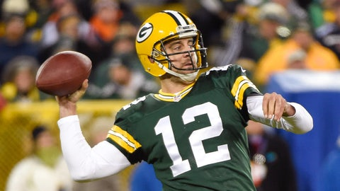 Quarterback: Aaron Rodgers, Packers