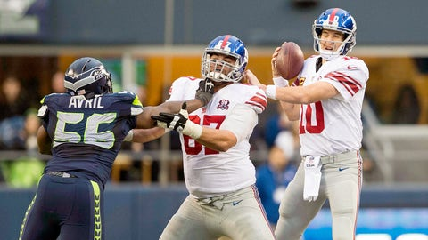 Left Guard: Justin Pugh, New York Giants