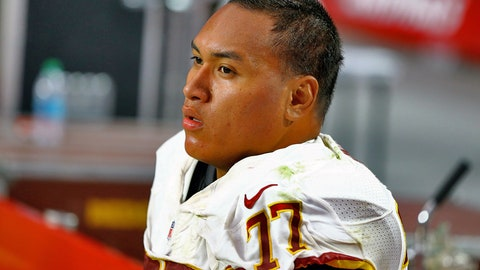 Shawn Lauvao, G, Redskins