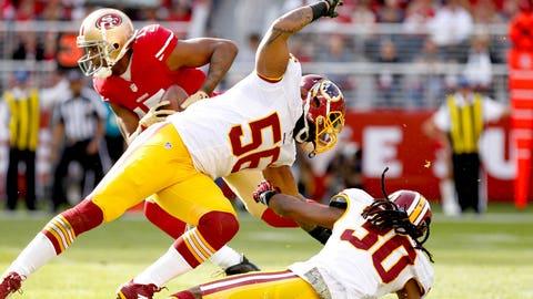 E.J. Biggers, S, Redskins