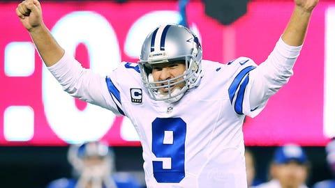 "HATE: Romo is the quarterback of ""America's Team,"" which means he is ""America's Quarterback"" ... which makes him YOUR quarterback."