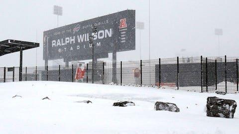 at Buffalo Bills