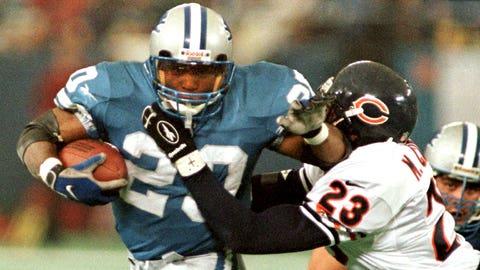 4 -- 1997: Detroit 55, Chicago 20