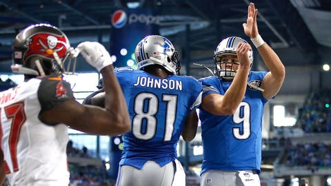 Big three lead Lions to victory over Bucs