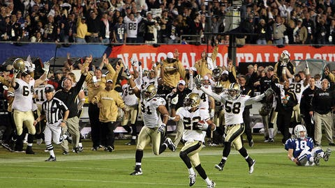 32: 2009 New Orleans Saints (Super Bowl XLIV)