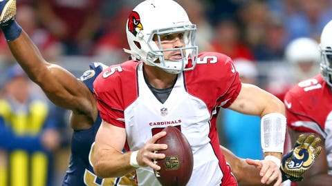Drew Stanton: First playoff appearance
