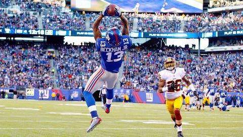 Wide Receiver: Odell Beckham Jr., New York Giants